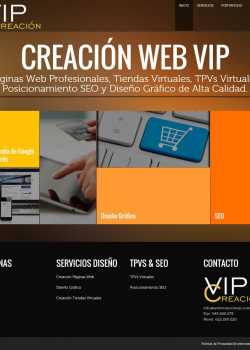 webcreacionvip