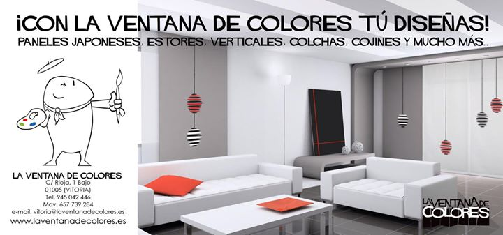 La ventana de colores vitoria en un clic for Diseno de interiores vitoria