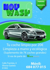 now wash vitoria