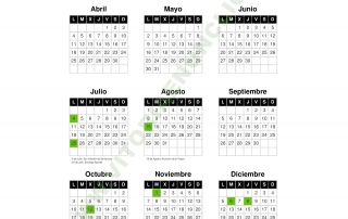 Calendario Laboral Bilbao.Calendario Laboral 2016 Archivos Vitoriaenunclic
