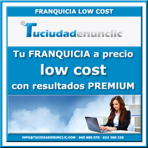 LOW COST FRANQUICIA pequeña