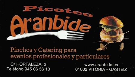 Picoteo-Aranbide-vitoria-vitoriaenunclic-catering-comida-rapida