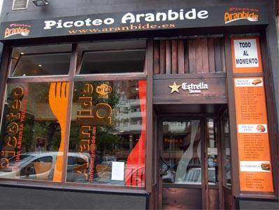 local-aranbide-picoteo-vitoria-comida-rapida-catering-vitoriaenunclic