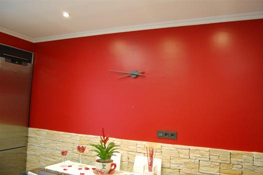 15 efectos de pintura en paredes realmente decorativos - Pinturas lavables para paredes ...