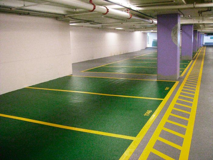 parking-pintado-en-Vitoria-con-pintores-Vitoria
