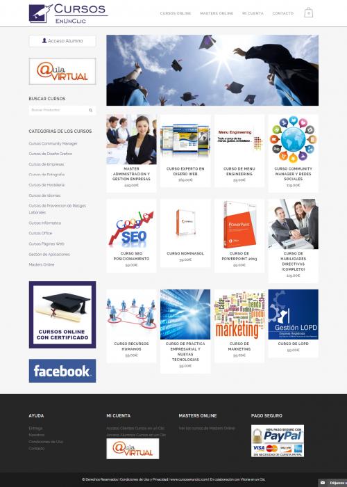 cursos baratos online certificado - cursosenunclic