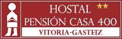 logo-pension-casa-400-Vitoria-centro-hotel-hostal-alojamiento-bueno-bonito-barato-Vitoria