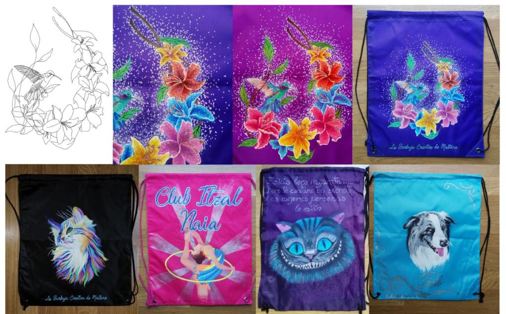 sacos-mochila-personalizados-pintados-a-mano-en-Vitoria